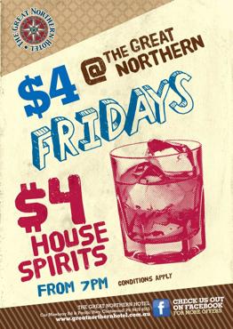 $4 Fridays