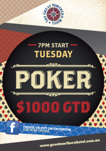 POKER – TUESDAY NIGHTS