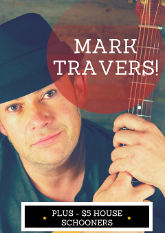 Mark Travers – LIVE here at The Northern