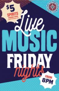 Live Music & $5 Fridays