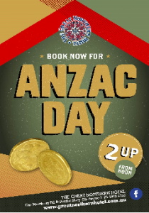 Anzac Day at The Northern!