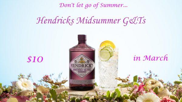 Midsummer G&T special