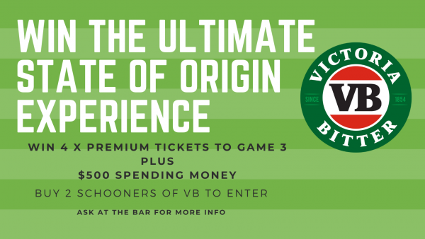 Win the ultimate state of origin experience